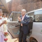 Lokayukta Visits to Hanumagiri